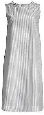 Lafayette 148 New York Women's Mela V-Back Striped Shift Dress