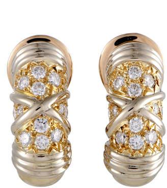 Van Cleef & Arpels Heritage  18K 0.50 Ct. Tw. Diamond Earrings
