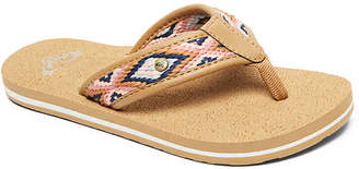 Roxy Saylor Toddler & Youth Flip Flop - Girl's