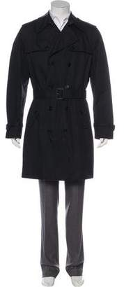 Dolce & Gabbana Quilted Double-Breasted Trench Coat w/ Tags