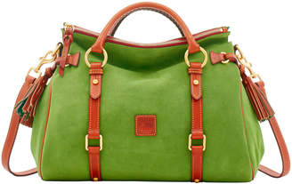 Dooney & Bourke Suede Medium Satchel
