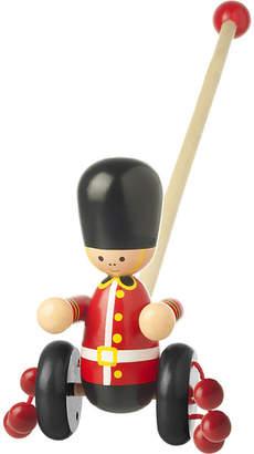 Orange Tree Toys Push Along wooden soldier