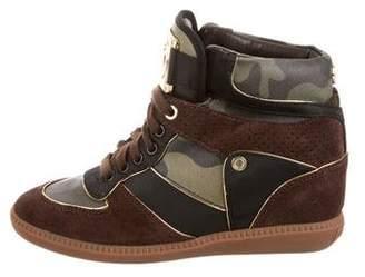 MICHAEL Michael Kors Suede High-Top Sneakers