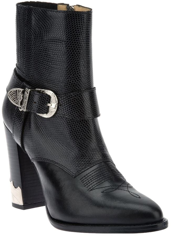 Toga Pulla buckled 'Pulla' ankle boot