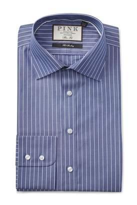 Thomas Pink Holbert Stripe Slim Fit Dress Shirt