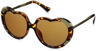 A. J. Morgan A.J. Morgan Women's Heartstomper Round Sunglasses