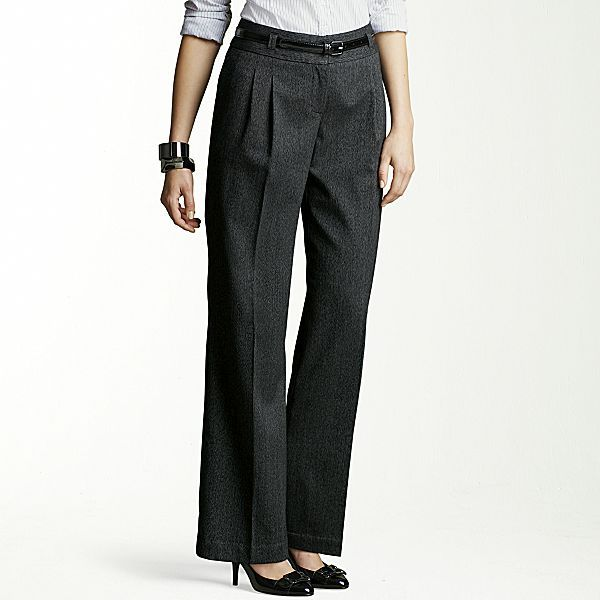 Clearance! Worthington® Belted Pleated Pants