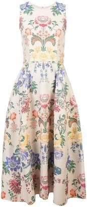 Carolina Herrera floral print mid dress