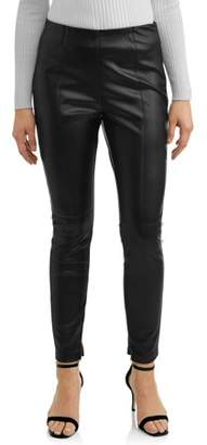Lea & Viola Juniors' Faux Leather Legging