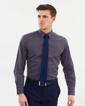 Graphic Check Casual Shirt