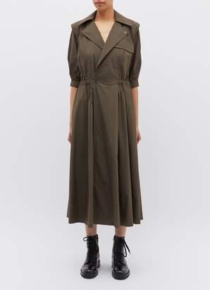 TOGA ARCHIVES Notched lapel chest pocket dress