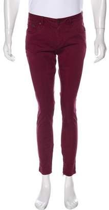 Burberry Zipper-Accented Pants
