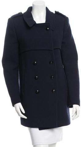 Chloé Chloé Virgin Wool Double-Breasted Coat