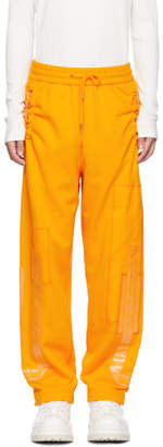 Feng Chen Wang Orange French Terry Lounge Pants