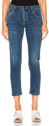 Citizens of Humanity Elsa Mid Rise Slim $218 thestylecure.com