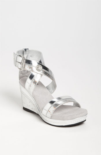 Stuart Weitzman 'Alabaster' Sandal (Little Kid & Big Kid)
