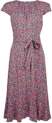 Dorothy Perkins Womens **Billie & Blossom Ditsy Print Midi Dress
