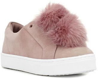 Sam Edelman Leya Slip-On Suede Sneakers $100 thestylecure.com