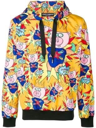 Dolce & Gabbana Super pig hoodie