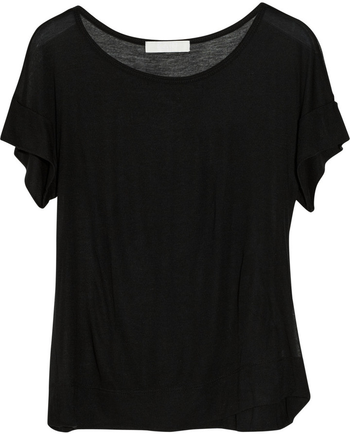 Kain Label Zia modal and silk-blend T-shirt