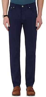 Isaia Men's Slim Straight Jeans - Navy