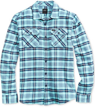 RVCA Men That'll Work Flannel Cotton Shirt