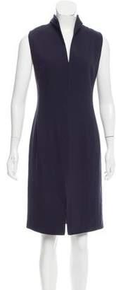 Gianni Versace Wool Sheath Dress