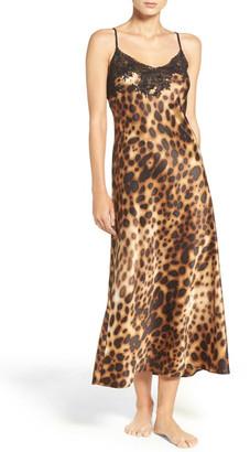 Natori Leopard Nightgown $160 thestylecure.com