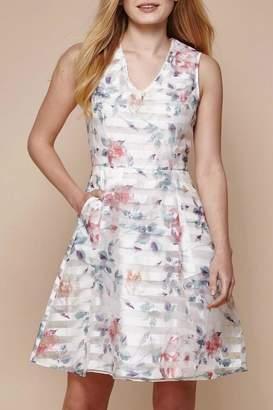 Yumi Floral Organza Dress