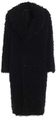 Saint Laurent Curly Faur Fur Coat
