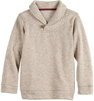 Sonoma Goods For Life Boys 4-12 SONOMA Goods for Life Shawl Neck Pullover