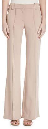 A.L.C. Lawrence Mid-Rise Wide-Leg Crepe Pants