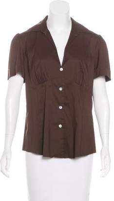 Trina Turk Short Sleeve Button-Up