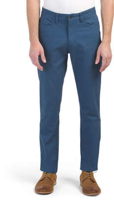 5 Pocket Stretch Canvas Pants