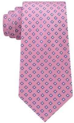Club Room Men's Neat Silk Tie, Created for Macy's
