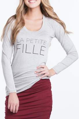 Lilac Petite Fille Tee