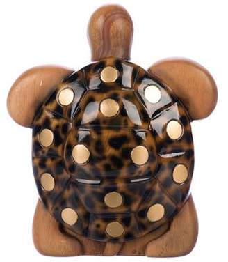 Timmy Woods Wooden Turtle Bag