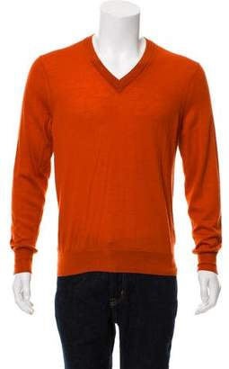 Burberry V-Neck Cashmere Sweater