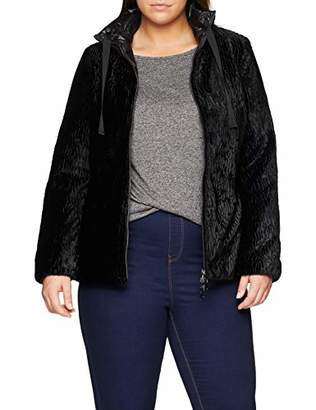 Elena Mirò Women's Piumino Reversibile in Due Tessuti Coat,(Size: 39)