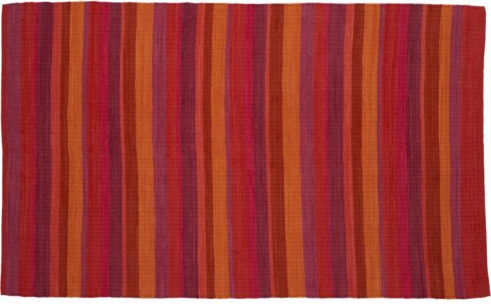 Cabo Fuchsia Stripe Rug