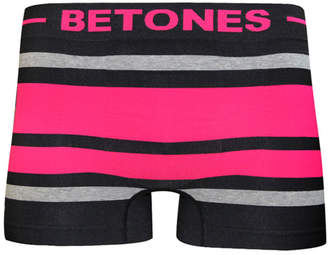 Betones (ビトーンズ) - ビトーンズ BETONES 【BETONES】驚きの伸縮性!ボクサーパンツメンズ BREATH BLACK