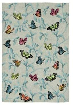Liora Manné Ravella Butterflies on Tree Indoor and Outdoor Rug