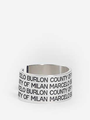 Marcelo Burlon County of Milan Rings