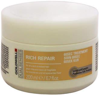 Goldwell 6.7Oz Dualsenses Rich Repair 60 Sec Treatment