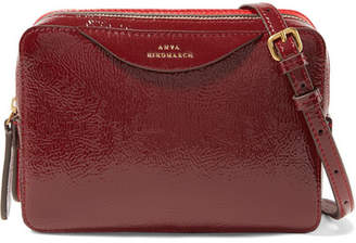 Anya Hindmarch Paneled Textured-leather Shoulder Bag