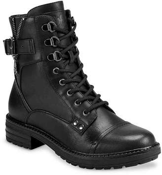 G by Guess Gessy Combat Boot - Women's