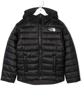 The North Face Kids padded hooded jacket