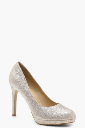 boohoo Isla Platform Court Shoes