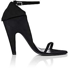 Calvin Klein Women's Camrin Suede Sandals - Black