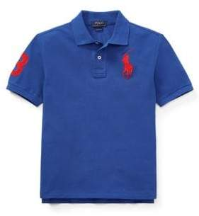 Ralph Lauren Childrenswear Kid's Classic-Fit Cotton Mesh Polo